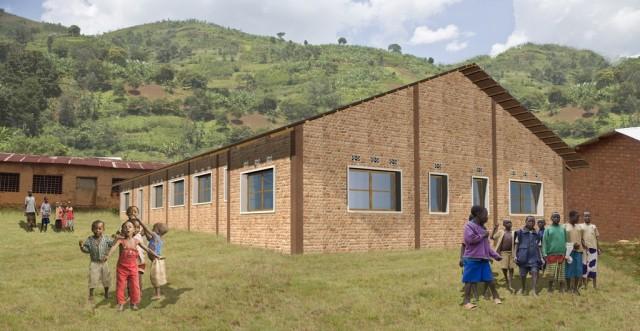 Multi-purpose hall rendering