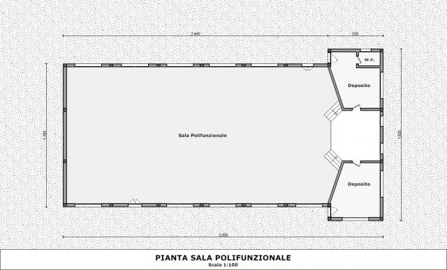 Masango multi-pupose hall plan