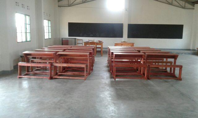 Nuova aula Buterere 2