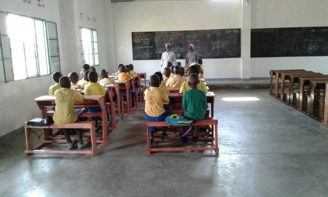 Nuova aula Buterere 3